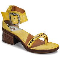 Cipők Női Szandálok / Saruk Airstep / A.S.98 KENYA Citromsárga