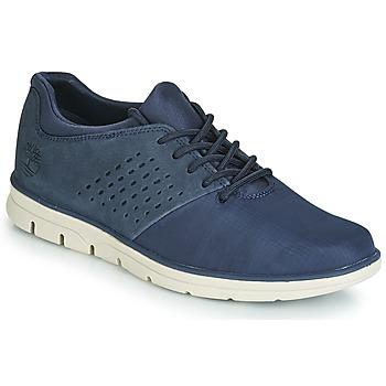 Cipők Férfi Rövid szárú edzőcipők Timberland BRADSTREET F/L OXFORD Kék
