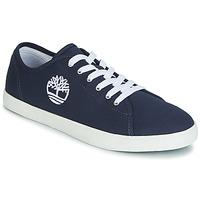 Cipők Gyerek Rövid szárú edzőcipők Timberland NEWPORT BAY CANVAS OX Kék