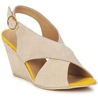 Cipők Női Szandálok / Saruk Pieces OTTINE SHOP SANDAL Tópszínű