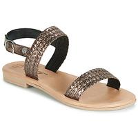 Cipők Női Szandálok / Saruk Betty London JADALETTE Bronz