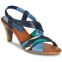 Cipők Női Szandálok / Saruk Betty London POULOI Kék / Zöld