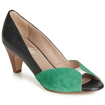 Cipők Női Félcipők Betty London JIKOTIZE Fekete  / Zöld