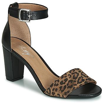 Cipők Női Szandálok / Saruk Betty London CRETOLIA Fekete