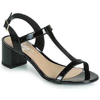 Cipők Női Szandálok / Saruk Betty London CREPE Fekete