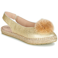 Cipők Női Balerina cipők / babák Betty London JIKOTI Arany