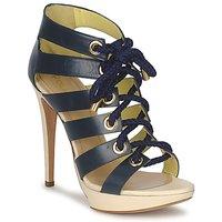 Cipők Női Szandálok / Saruk Pollini PA1609CC1V Kék