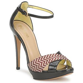 Cipők Női Szandálok / Saruk Pollini PA1638CC1V Bőr-piros