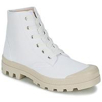 Shoes Férfi Magas szárú edzőcipők Casual Attitude MADIMA Fehér