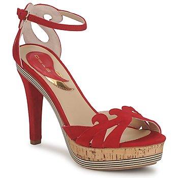 Cipők Női Szandálok / Saruk Etro 3488 Piros
