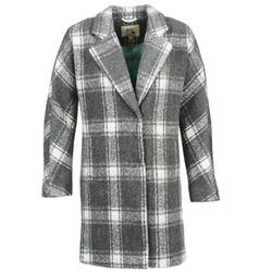 Ruhák Női Kabátok Yumi EHIME Fehér / Szürke
