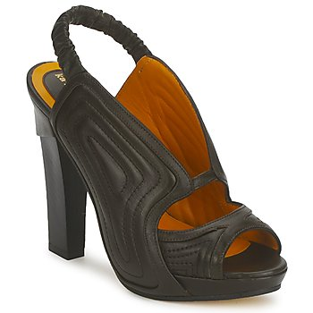 Cipők Női Szandálok / Saruk Karine Arabian ORPHEE Fekete