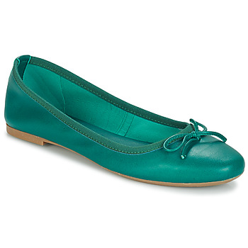Cipők Női Balerina cipők  André PIETRA Zöld