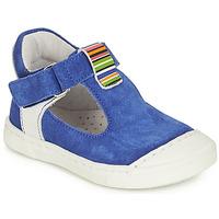 Cipők Lány Balerina cipők / babák André BELUGA Kék