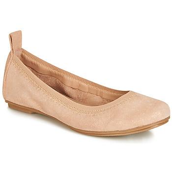 Cipők Lány Balerina cipők  André PEPITE Rózsaszín