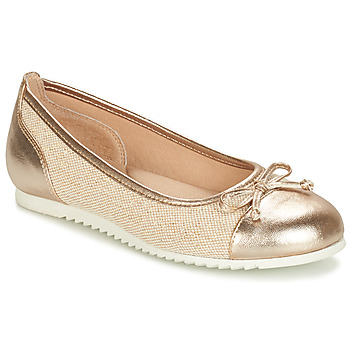 Cipők Lány Balerina cipők / babák André RIVAGE Arany