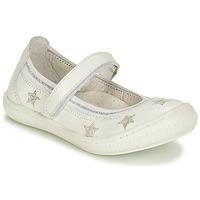 Cipők Lány Balerina cipők / babák André STELLA Fehér