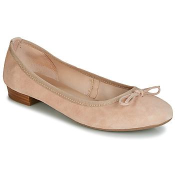Cipők Női Balerina cipők  André CINDY Bőrszínű