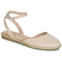 Cipők Női Gyékény talpú cipők André CELIANE Bézs