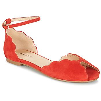 Cipők Női Szandálok / Saruk André SERINGAT Piros