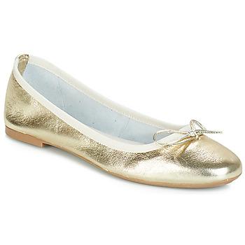 Cipők Női Balerina cipők / babák André PIETRA Arany