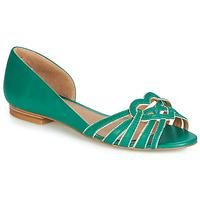 Cipők Női Balerina cipők / babák André CHRISTIE Zöld