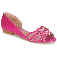 Cipők Női Balerina cipők / babák André CHRISTIE Rózsaszín