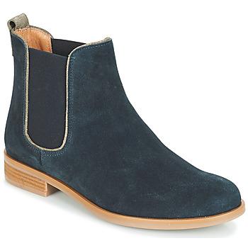 Cipők Női Csizmák André RIDER Kék