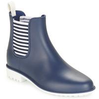 Cipők Női Gumicsizmák André SKIPPER Kék