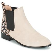 Cipők Női Csizmák André CHAMANE Bézs