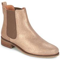 Cipők Női Csizmák André CHATELAIN Arany
