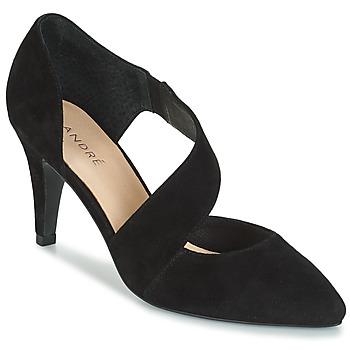 Cipők Női Félcipők André SOIE Fekete
