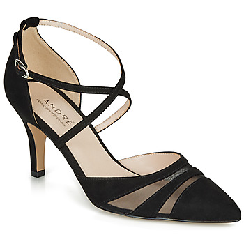 Cipők Női Félcipők André CARMEN Fekete
