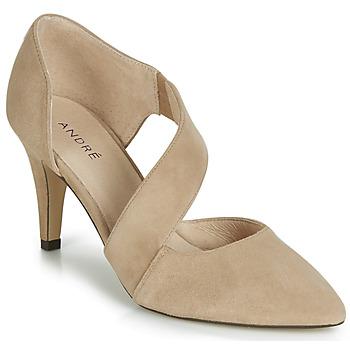Cipők Női Félcipők André SOIE Bézs