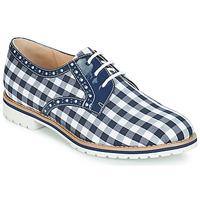 Cipők Női Oxford cipők André DERIVEUR Kék