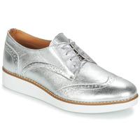 Cipők Női Oxford cipők André CAROU Ezüst