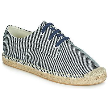 Cipők Női Gyékény talpú cipők André SYBILLE Kék