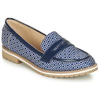 Cipők Női Mokkaszínek André PORTLAND Kék