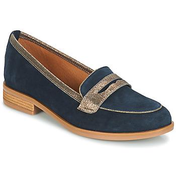 Cipők Női Mokkaszínek André ROAD Kék