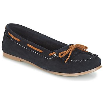 Cipők Női Mokkaszínek André REE Kék