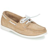 Cipők Női Vitorlás cipők André CATBOAT Bézs
