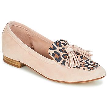Cipők Női Mokkaszínek André CONGO Rózsaszín