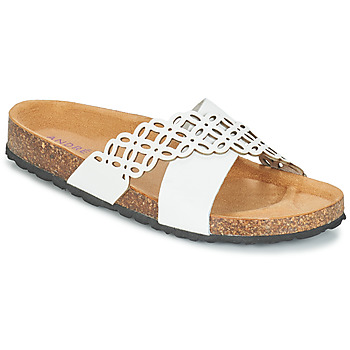 Cipők Női Papucsok André ROULADE Fehér