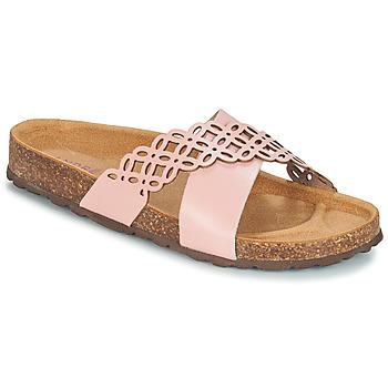 Cipők Női Papucsok André ROULADE Rózsaszín