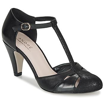 Cipők Női Félcipők André CANCAN Fekete