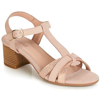 Cipők Női Szandálok / Saruk André CAROLA Bőrszínű