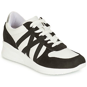 Cipők Női Rövid szárú edzőcipők André ALLURE Fekete  / Fehér
