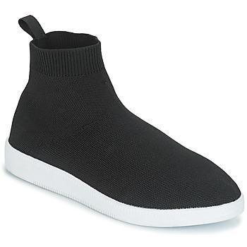 Cipők Női Magas szárú edzőcipők André ATINA Fekete