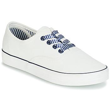 Cipők Női Rövid szárú edzőcipők André STEAMER Fehér