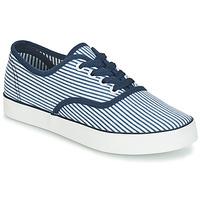 Cipők Női Rövid szárú edzőcipők André STEAMER Kék / Fehér